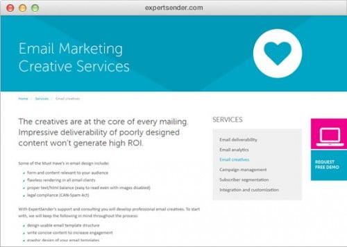 expertsender new website